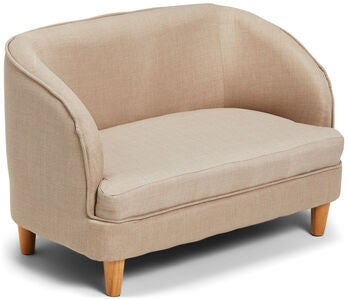 Alice & Fox Sofa Med Trebein, Light Tan