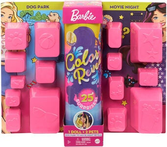 Barbie Color Reveal Park To Movies Dukke
