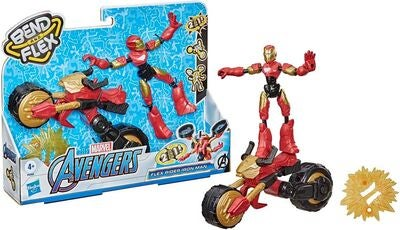 Marvel Avengers Bend And Flex Figur Rider Iron Man