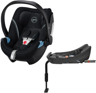 Cybex Aton 5 Babybilstol Inkl. 2-Fix Base, Deep Black