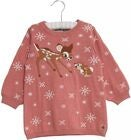 Wheat Disney Bambi Strikket Kjole, Soft Rouge