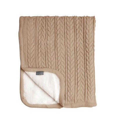 Vinter & Bloom Teppe Cuddly, Almond Beige