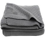 Jollein filt Bliss Knit 75x100cm, Storm Grey