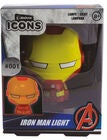 Marvel Avengers Iron Man Icon Light BDP Nattlampe