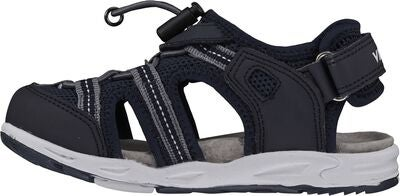 Viking Thrill Sandal, Navy/Grey