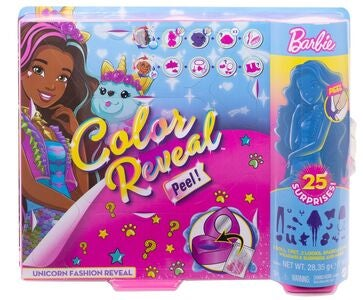 Barbie Color Reveal Dukke, Unicorn
