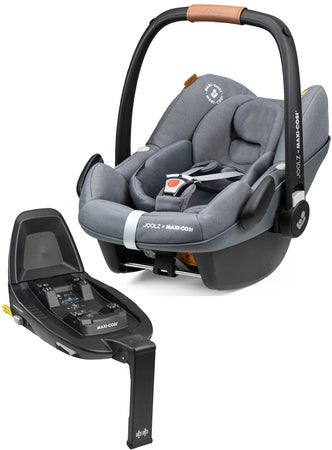 Joolz Maxi-Cosi Pebble Pro i-Size Babybilstol Inkl. Family Fix 3 Base, Grey