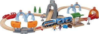 Brio 33972 Action Tunnel Travel Set (Smart Tech Sound)