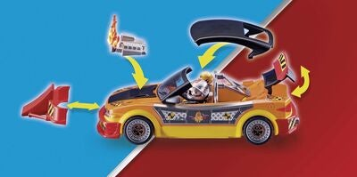 Playmobil 70551 Stuntshow – Crashcar