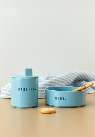 Design Letters Favorittskål Mini Tritan Darling, Blå