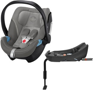 Cybex Aton 5 Babybilstol Inkl. 2-Fix Base, Soho Grey