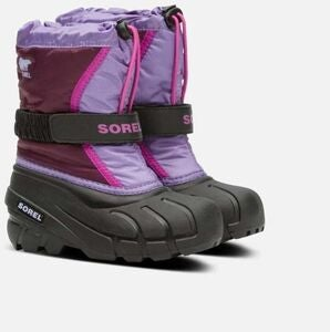 Sorel Childrens Flurry Vintersko, Purple Dahlia