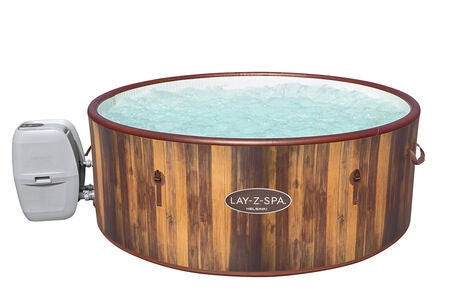 Bestay Lay-Z-Spa Helsinki AirJet Pool, Wooden