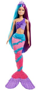 Barbie Dreamtopia Dukke Hairplay Mermaid
