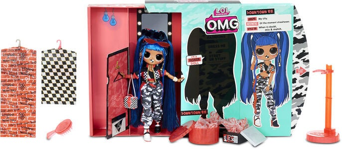 L.O.L. Surprise OMG 3.8 Doll - Downtown BB