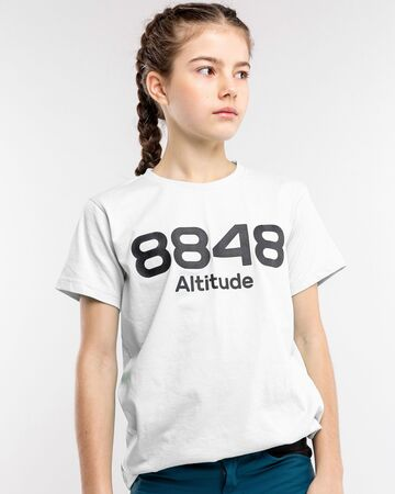 8848 Altitude Lium JR T-Shirt, White