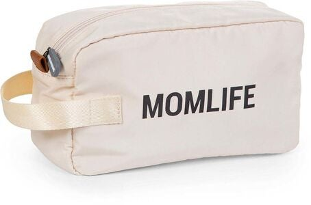 Childhome Mom Life Toalettmappe, Offwhite/Black