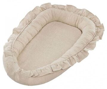 Cotton & Sweets Babynest Volang, Naturel