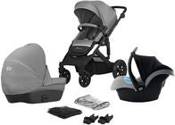 Kinderkraft PRIME Lite Duovogn 3-in-1, Grey