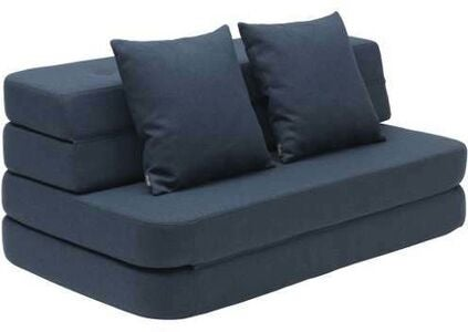 KlipKlap 3 Fold Sofa XL, Dark Blue
