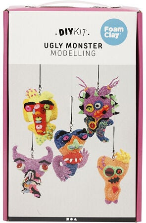 Foam Clay Ugly Monsters