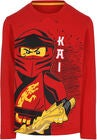 LEGO Collection Langermet T-Shirt, Red