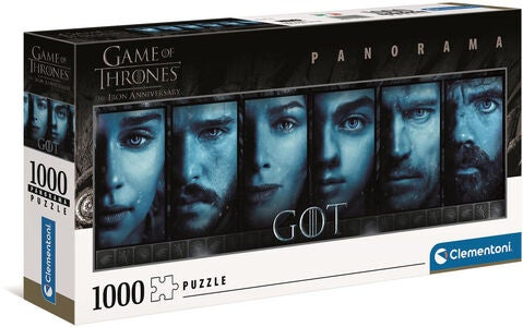 Clementoni Puslespill Game of Thrones Panorama, 1000 Brikker