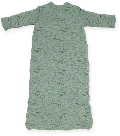 Jollein Sovepose 4 seasons 110cm Whales, Ash Green