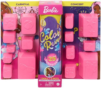 Barbie Color Reveal Carnival To Concert Dukke