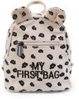Childhome My First Bag Ryggsekk Canvas Leopard