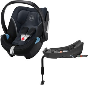 Cybex Aton 5 Babybilstol Inkl. 2-Fix Base, Granite Black