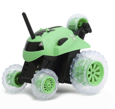 Sharper Image RC Thunder Tumble Spinning Car, Grønn