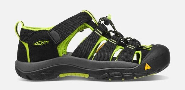 KEEN Newport H2 Sandal, Black/Lime Green