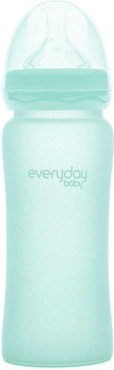 Everyday Baby Tåteflaske Glass 300 ml, Mint Green
