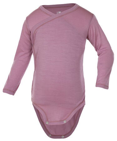 Janus Baby Lightwool Wrap-Around Body, Dusty Rose