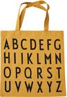 Design Letters Favourite Tøypose ABC, Mustard
