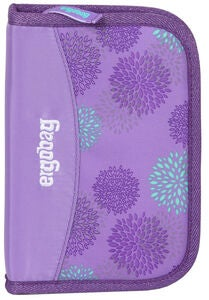 Ergobag Hard Pennal SleighBear Glow, Purple Ice Flowers