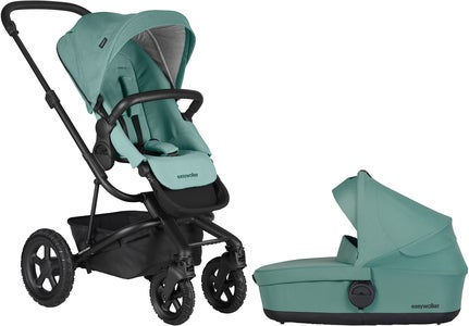 EasyWalker Harvey² All-Terrain Duovogn, Coral Green