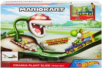 Hot Wheels Mario Kart Track Set Piranha Plant Slide