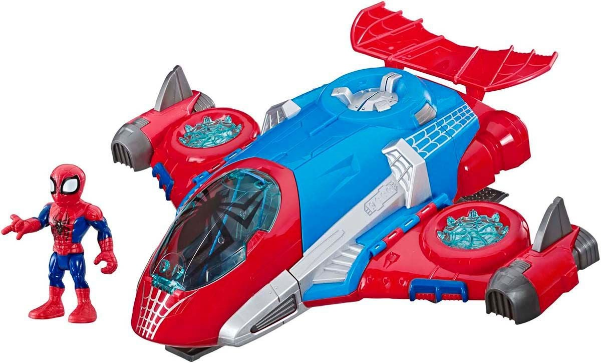 Marvel Super Hero Spider-Man Jetquarters