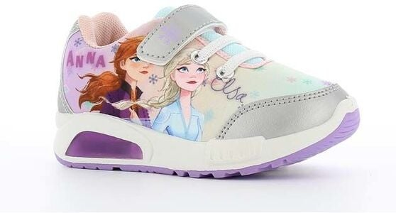 Disney Frozen 2 Blinkende Sneakers, Silver