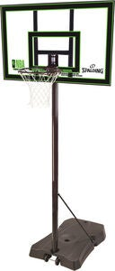 Spalding NBA Basketstativ Highlight Acrylic Portable