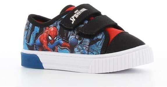 Marvel Spider-Man Blinkende Sneakers, Black/Red