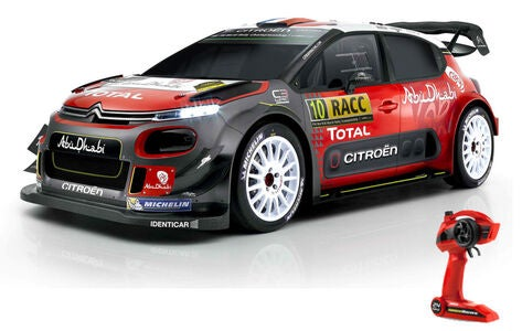 TecTeam RC Citroen C3 WRC Bil