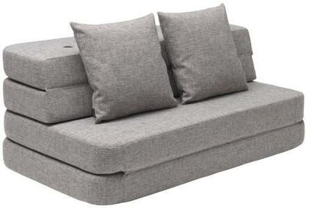 KlipKlap 3 Fold Sofa XL, Multi Grey