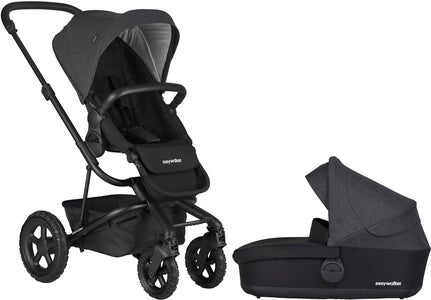 EasyWalker Harvey² All-Terrain Duovogn, Night Black