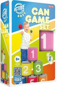 Tactic Soft Can Game Set