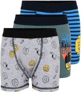 LEGO Collection Boksershorts3-pack, Grey