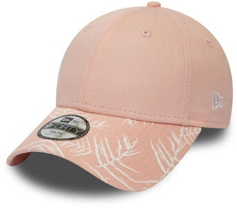 New Era Palm Print 9FORTY KIDS NE Kaps, Pink Lemonad