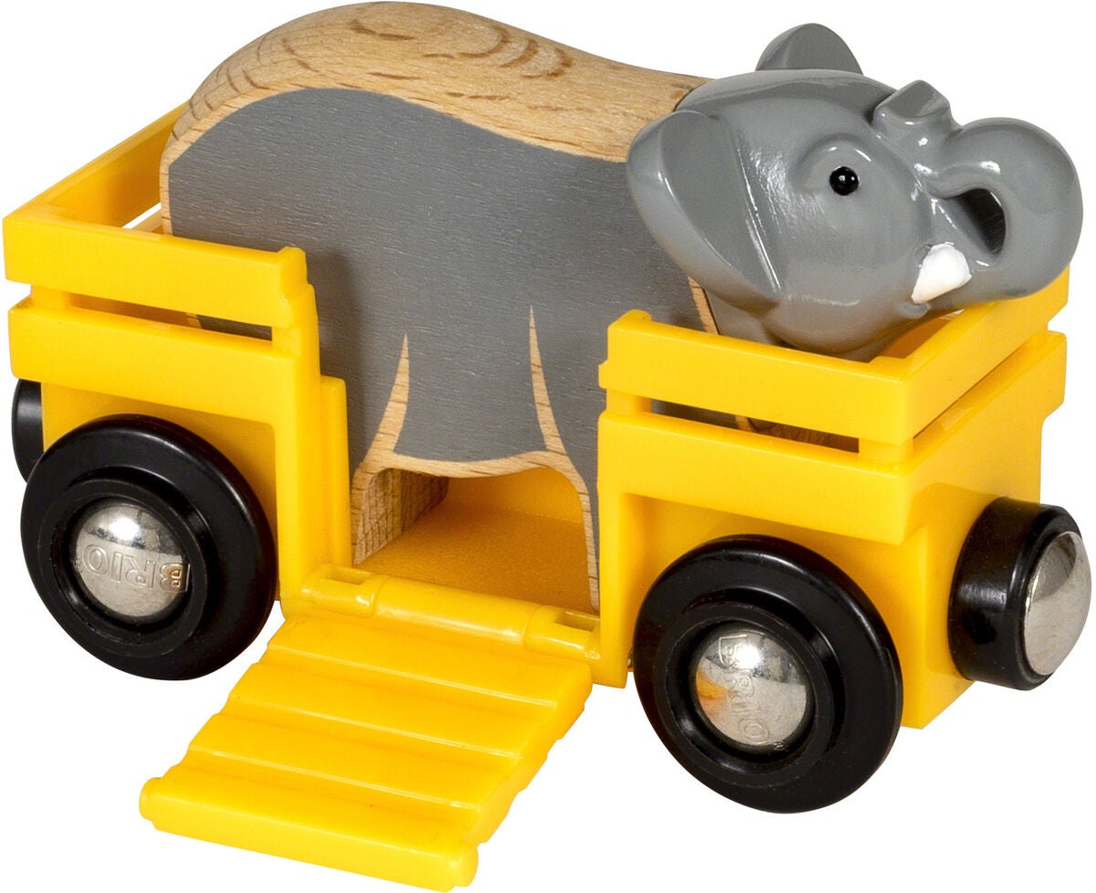 BRIO World 33969 Elefant og Vogn
